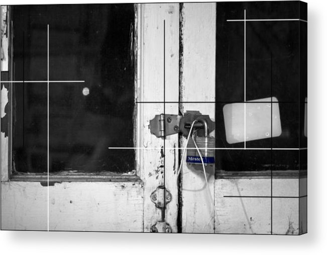Indoor Acrylic Print featuring the photograph Lock Away by Mitchell Houseman