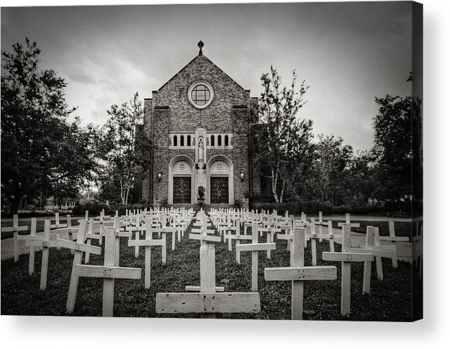 Scary Acrylic Print featuring the photograph Lord Knows by Pixel Perfect by Michael Moore
