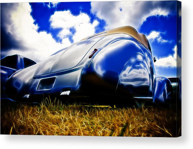 Ford Acrylic Print featuring the photograph Low Ford Roadster by Phil 'motography' Clark