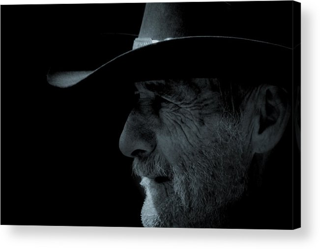 Cowboys Acrylic Print featuring the photograph Midnight Cowboy by Christine Till