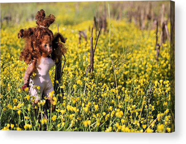 Missing You Acrylic Print featuring the photograph Missing You II by JC Findley