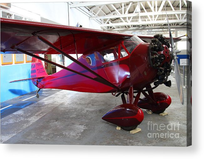 Airplane Acrylic Print featuring the photograph Monocoupe 110 . 7d11144 by Wingsdomain Art and Photography