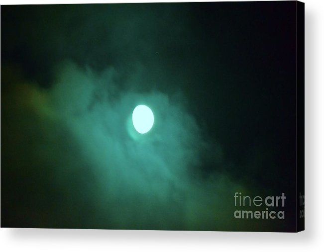 Moon Acrylic Print featuring the photograph Moon 7 by Artie Wallace