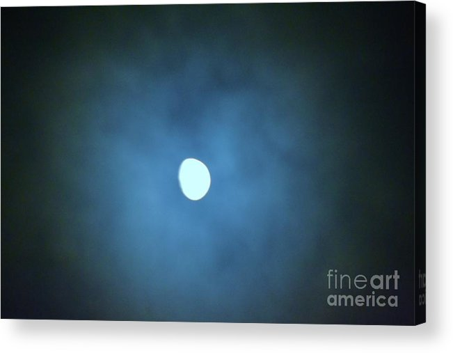 Moon Acrylic Print featuring the photograph Moon 9 by Artie Wallace
