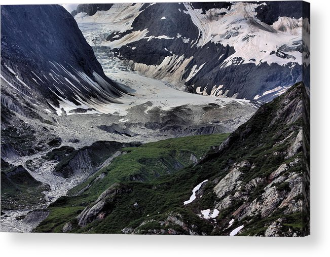 Juneau Acrylic Print featuring the photograph Nature's Abstract by Kristin Elmquist