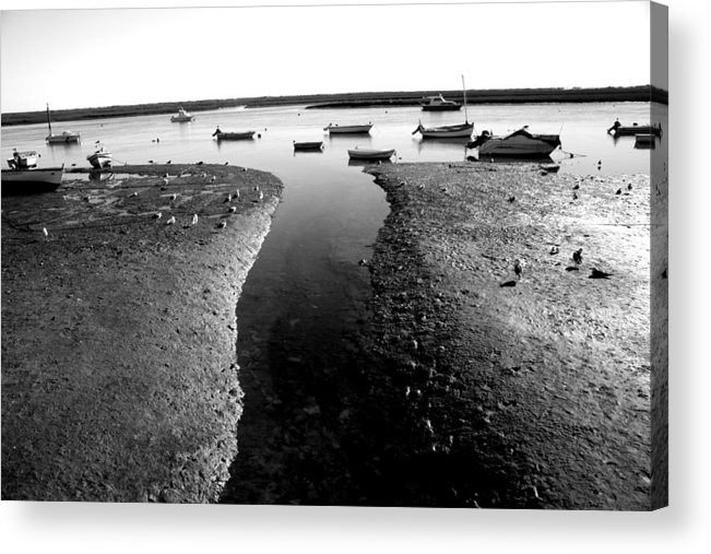 Jezcself Acrylic Print featuring the photograph No More Until Morning by Jez C Self