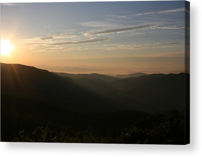 North Carolina Acrylic Print featuring the photograph North Carolina Morning by Stacy C Bottoms
