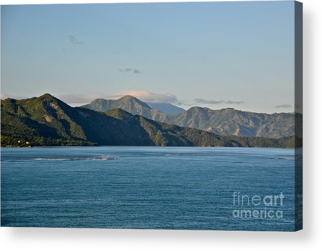 Haiti Acrylic Print featuring the photograph North Shore Of Haiti by Carol Bradley