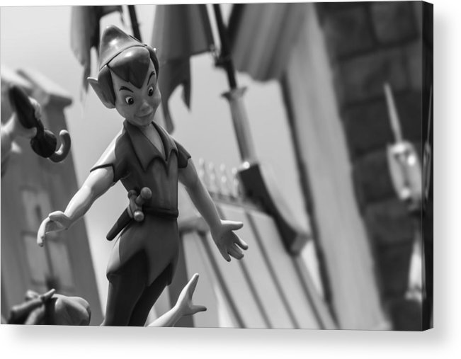 Off Acrylic Print featuring the photograph Off To Neverland by Nicholas Evans