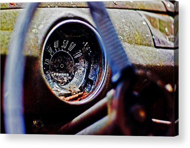 Ford Acrylic Print featuring the photograph Old Ford by Randall Cogle