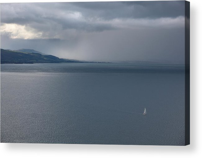 Sea Acrylic Print featuring the photograph Open Water by Mal Bray