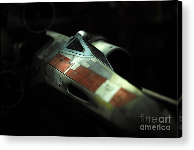 X-wing Acrylic Print featuring the photograph Original X-wing by Micah May
