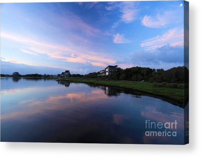 North Carolina Outer Banks Acrylic Print featuring the photograph Outer Banks Sunrise by Adam Jewell