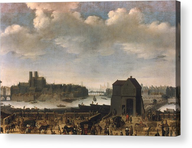 1646 Acrylic Print featuring the photograph Paris, C1646 by Granger
