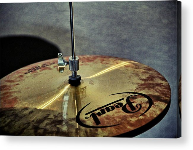 Pearl Acrylic Print featuring the photograph Pearl Hi Hat by Odd Jeppesen
