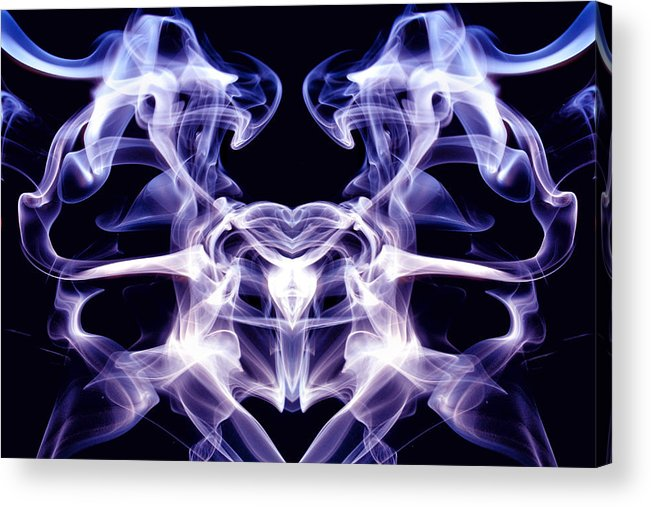 Pelvis Acrylic Print featuring the photograph Pelvis Number Two Edit F by Nawfal Nur