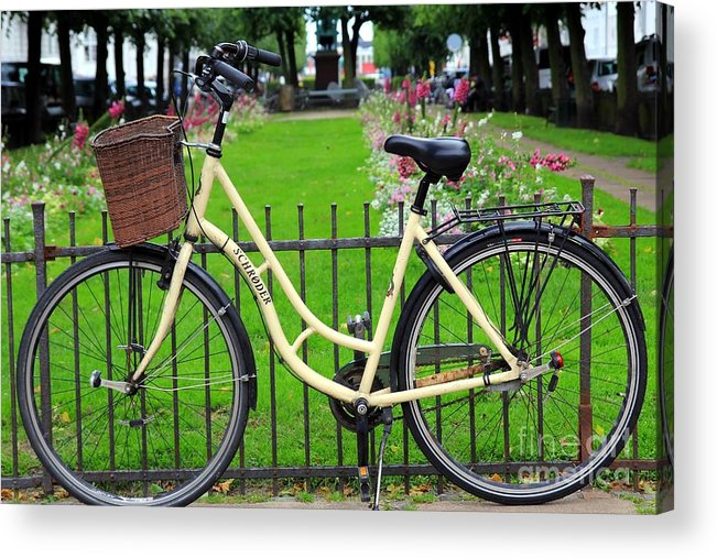 Bicycle Acrylic Print featuring the photograph Picturesque Copenhagen by Sophie Vigneault