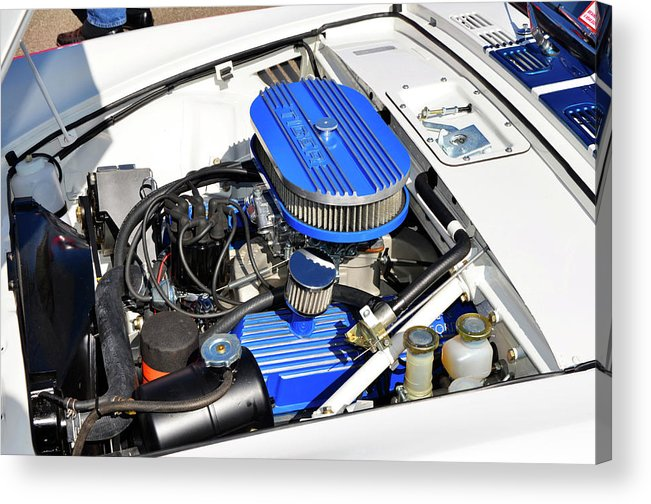 Sunbeam Tiger Acrylic Print featuring the photograph Powered By Ford by Paul Mashburn