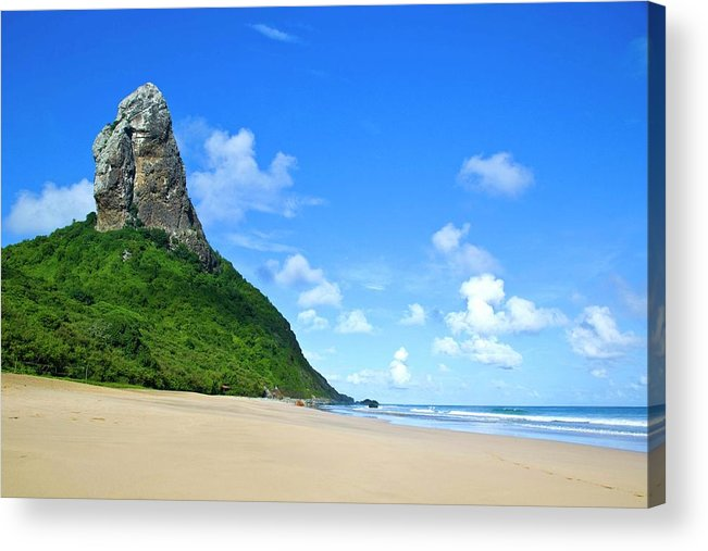 Horizontal Acrylic Print featuring the photograph Praia Da Conceição by Nicolas Vallejos Photography and Design
