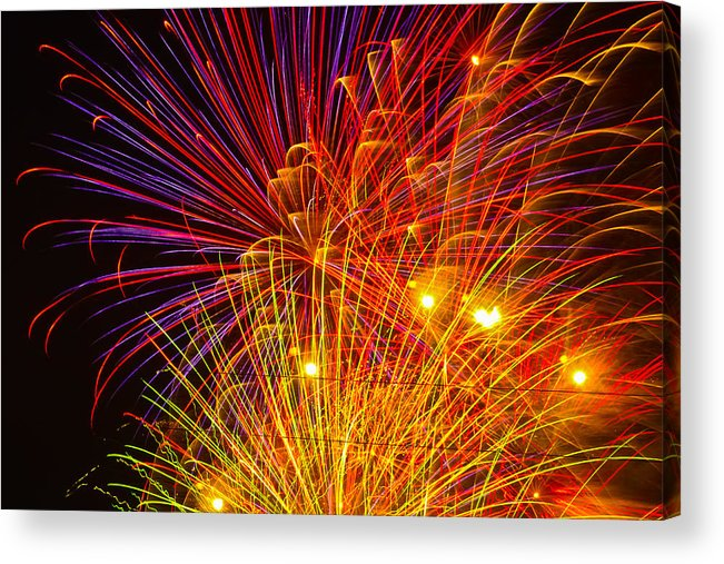 4th Of July Acrylic Print featuring the photograph Proud To Be American by Joshua Dwyer
