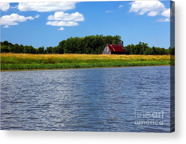 Quebec Acrylic Print featuring the photograph Quebec Countryside by Sophie Vigneault