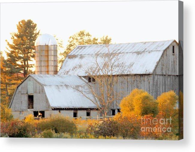Barn Acrylic Print featuring the photograph Quiet Country by Joe Jake Pratt