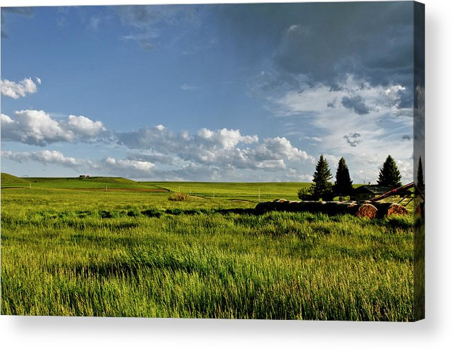 Americas Acrylic Print featuring the photograph Rangeland View by Roderick Bley