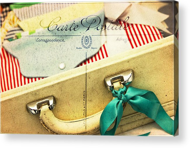 Purse Acrylic Print featuring the photograph Ready by Rebecca Cozart