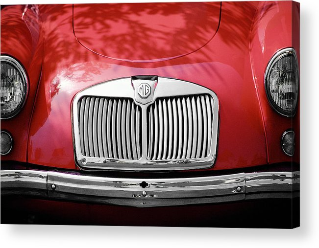 Mg Acrylic Print featuring the photograph Red Mg by Mark Greenberg