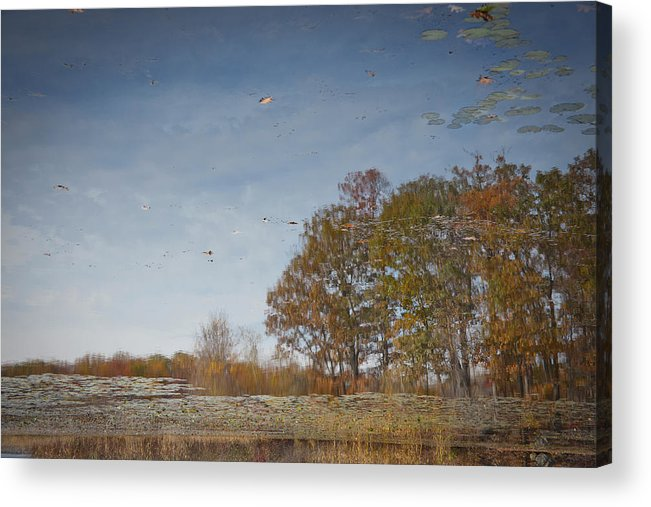 Horizontal Photographs Acrylic Print featuring the photograph Reflections 2 by Michael Filonow