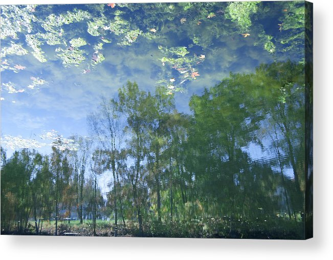 Horizontal Photographs Acrylic Print featuring the photograph Reflections 3 by Michael Filonow
