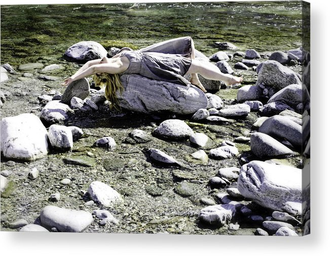 Young Acrylic Print featuring the photograph Relax by Joana Kruse