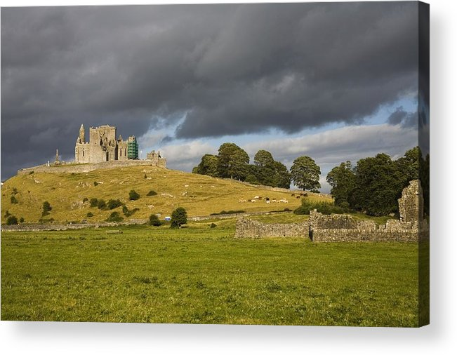 Architectural Acrylic Print featuring the photograph Rock Of Cashel, Cashel, County by Richard Cummins