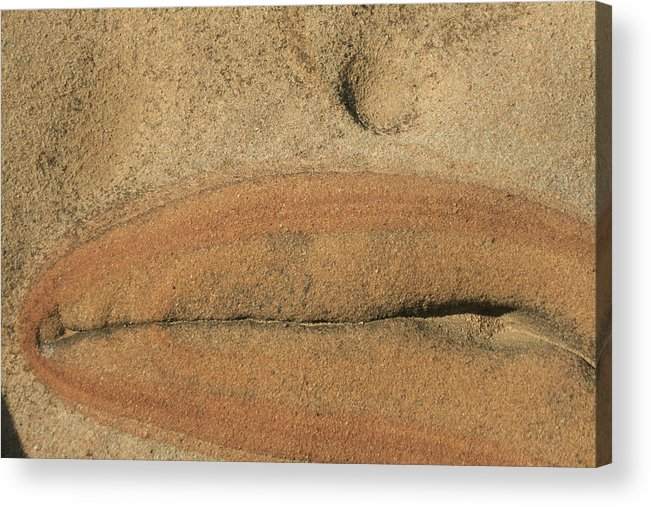 Point Lobos Reserve Acrylic Print featuring the photograph Rock Sculpture by Suzanne Lorenz