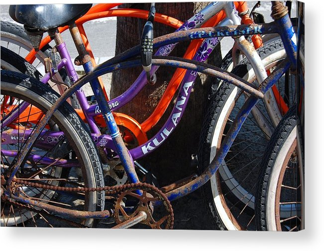 Bike Acrylic Print featuring the photograph Saggy Chain by Jame Hayes