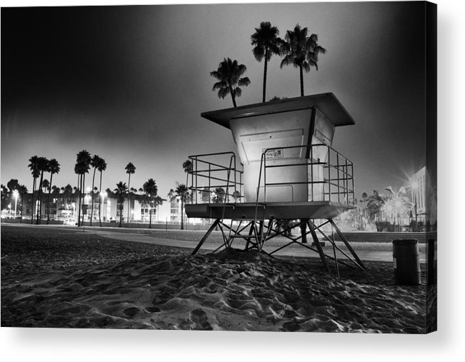 Lifeguard Acrylic Print featuring the photograph Silent Guards by Cesar Ponce