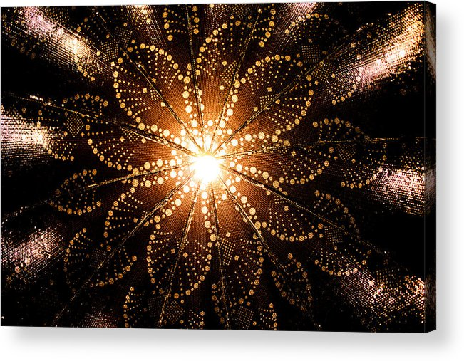 Background Acrylic Print featuring the photograph Solar System by Natapol Chananuwong