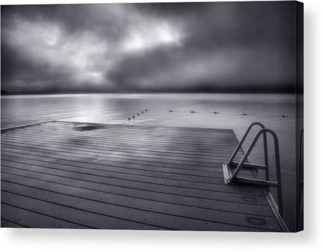 Quiet Acrylic Print featuring the photograph Solitude II by Steven Ainsworth