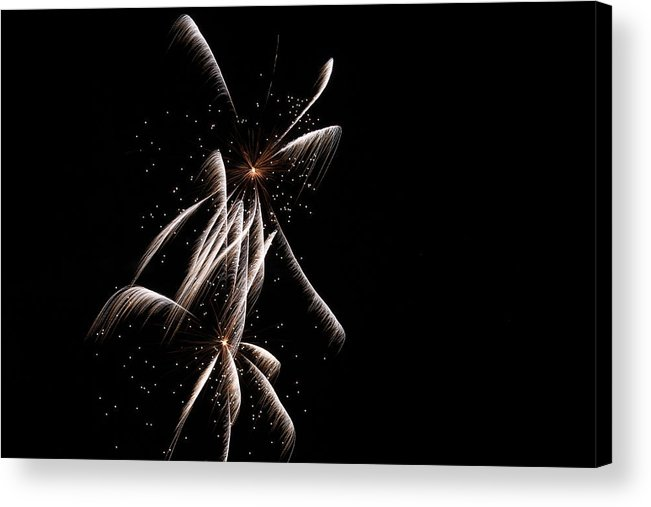 Fireworks Acrylic Print featuring the photograph Sparkles by Kim Davis
