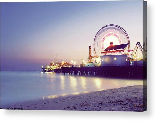 Horizontal Acrylic Print featuring the photograph Spinning by Dj Murdok Photos
