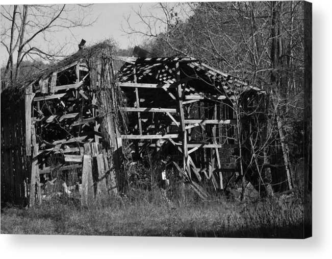 Barn Acrylic Print featuring the photograph Still Standing by George Miller