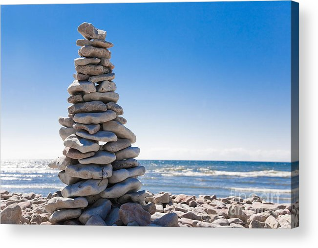 Gotland Acrylic Print featuring the photograph Stones by Kathleen Smith