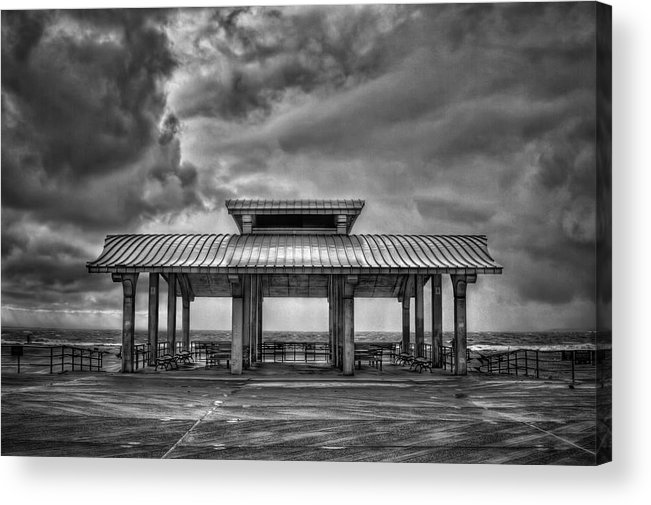 Brighton Acrylic Print featuring the photograph Storm Before The Calm by Evelina Kremsdorf