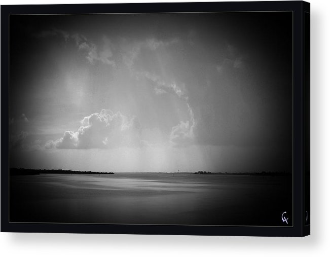 Acrylic Print featuring the photograph Storm Clouds by AlanaCrystina Page