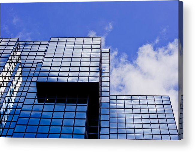 Highrise Buildings Acrylic Print featuring the photograph Straight Lines by Charel Schreuder