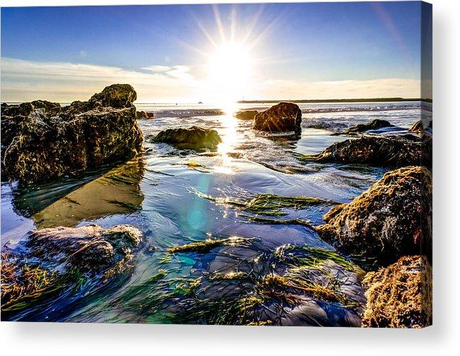 Sun Acrylic Print featuring the photograph Sun Flare by Brian Leon