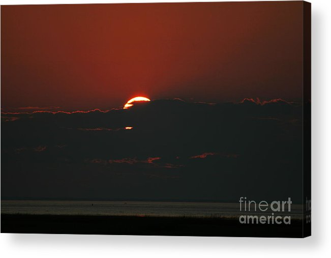 Sunset Acrylic Print featuring the photograph Sun Setter by Louis Sarkas