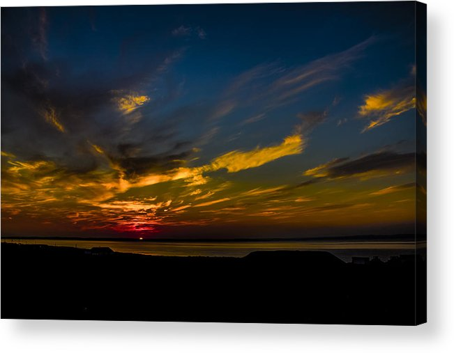 Sunset Acrylic Print featuring the photograph Sunset by Vincent Dwyer