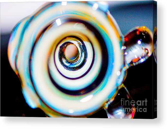 Abstract Acrylic Print featuring the photograph Swirls 2 by Melissa Haley