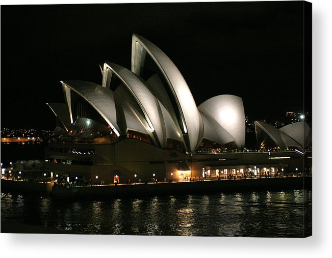 Sydney Opera House Acrylic Print featuring the photograph Sydney Opera House by Robert Stephenson